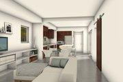 Modern Style House Plan - 3 Beds 3 Baths 1900 Sq/Ft Plan #497-58