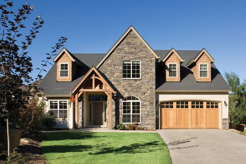 Dream House Plan - Craftsman Style home, bungalow design, elevation