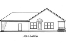 Southern Exterior - Other Elevation Plan #45-234
