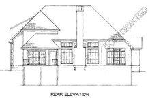 Home Plan - European Exterior - Rear Elevation Plan #41-159
