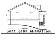 Traditional Style House Plan - 3 Beds 2 Baths 1673 Sq/Ft Plan #20-2347 Exterior - Other Elevation