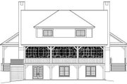 Southern Style House Plan - 3 Beds 2.5 Baths 2386 Sq/Ft Plan #81-731 Exterior - Rear Elevation