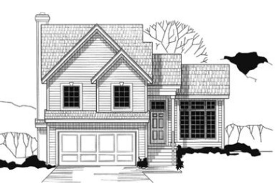 Traditional Exterior - Front Elevation Plan #67-144