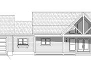 Country Style House Plan - 2 Beds 2 Baths 1650 Sq/Ft Plan #932-36