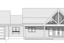 Architectural House Design - Country Exterior - Front Elevation Plan #932-36