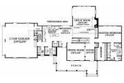 Country Style House Plan - 3 Beds 2 Baths 2380 Sq/Ft Plan #137-131 Floor Plan - Main Floor Plan