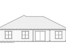 Craftsman Exterior - Rear Elevation Plan #938-94