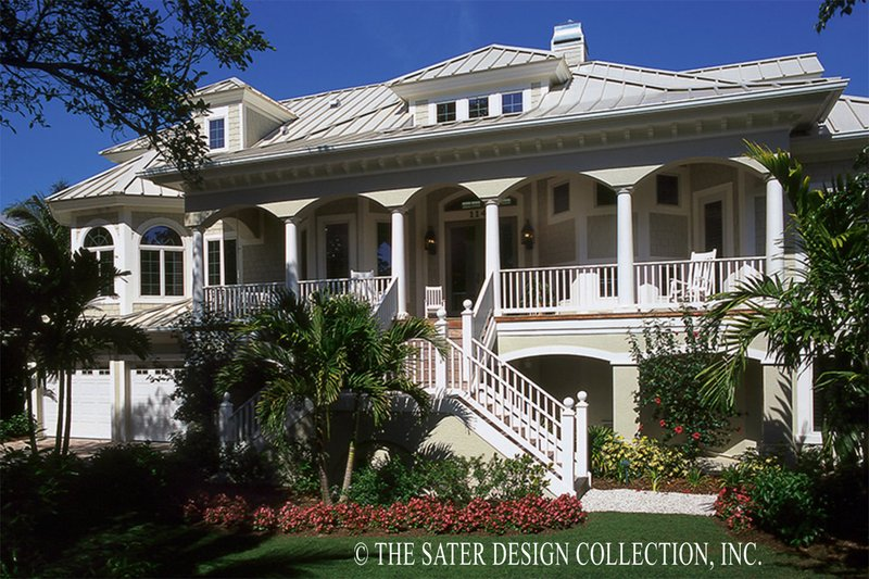 House Plan Design - Country Exterior - Front Elevation Plan #930-472