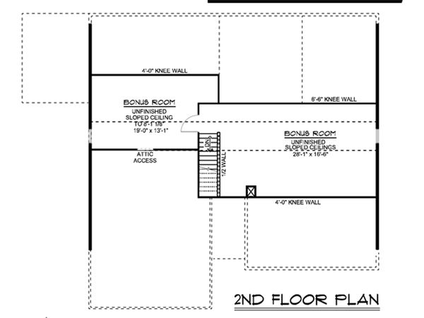 Cottage Floor Plan - Other Floor Plan #1064-35