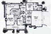 Colonial Style House Plan - 4 Beds 2.5 Baths 2118 Sq/Ft Plan #310-803 Floor Plan - Main Floor