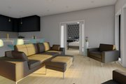 Farmhouse Style House Plan - 2 Beds 2 Baths 928 Sq/Ft Plan #126-175 Interior - Family Room