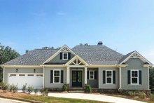 Dream House Plan - Craftsman Exterior - Front Elevation Plan #437-94