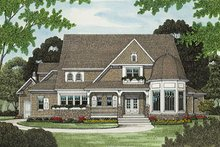 Architectural House Design - Craftsman Exterior - Other Elevation Plan #413-122