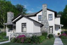 Dream House Plan - Cottage Exterior - Front Elevation Plan #120-267