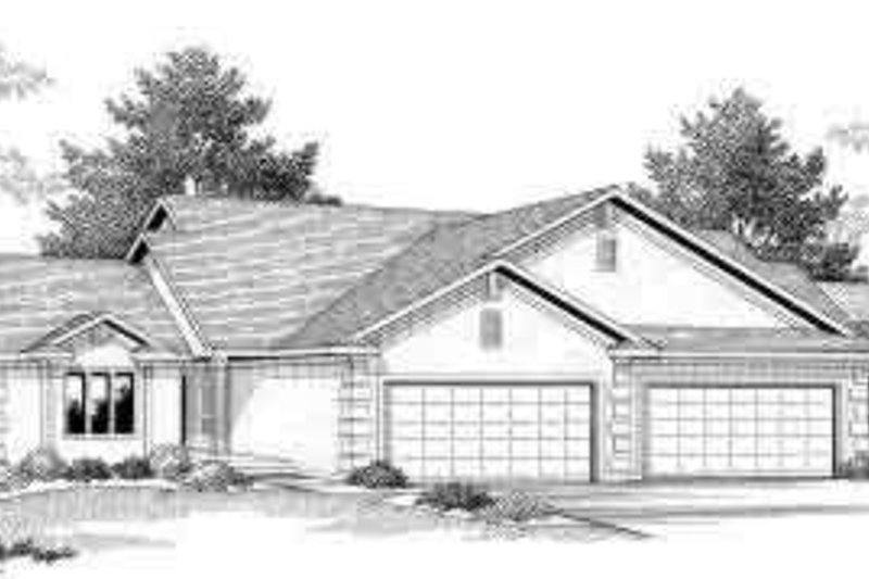 Traditional Exterior - Front Elevation Plan #70-751