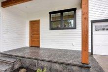Farmhouse Exterior - Covered Porch Plan #1070-1