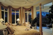 Mediterranean Style House Plan - 3 Beds 3.5 Baths 3891 Sq/Ft Plan #930-100 Interior - Master Bedroom
