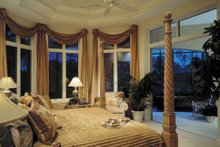 House Plan Design - Mediterranean Interior - Master Bedroom Plan #930-100