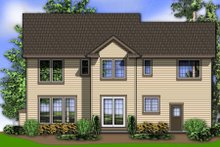Rear View - 2600 square foot Traditional home