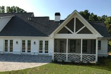 Architectural House Design - Traditional Exterior - Covered Porch Plan #437-83