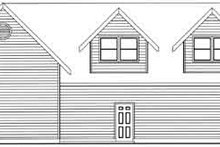 Traditional Exterior - Rear Elevation Plan #117-482
