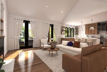 Architectural House Design - Farmhouse Interior - Family Room Plan #23-2723