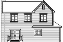 Dream House Plan - Farmhouse Exterior - Rear Elevation Plan #23-735