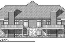 Dream House Plan - Traditional Exterior - Rear Elevation Plan #70-750