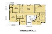 Contemporary Style House Plan - 5 Beds 4.5 Baths 3796 Sq/Ft Plan #1066-128 Floor Plan - Upper Floor