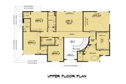 Contemporary Style House Plan - 5 Beds 4.5 Baths 3796 Sq/Ft Plan #1066-128