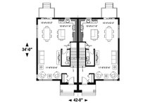 Modern Floor Plan - Main Floor Plan Plan #23-2639