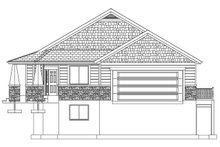 House Plan Design - Ranch Exterior - Front Elevation Plan #1060-40