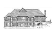 Craftsman Exterior - Rear Elevation Plan #46-114