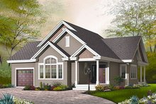 Traditional Exterior - Front Elevation Plan #23-790