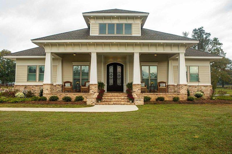 House Plan Design - Prairie Exterior - Front Elevation Plan #930-463