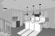 Craftsman Style House Plan - 5 Beds 4 Baths 2668 Sq/Ft Plan #461-42