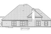Southern Style House Plan - 3 Beds 2 Baths 1770 Sq/Ft Plan #45-237 Exterior - Rear Elevation