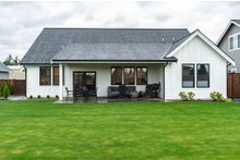 Dream House Plan - Farmhouse Exterior - Rear Elevation Plan #1070-21