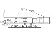 Home Plan - Cottage Exterior - Other Elevation Plan #20-2187