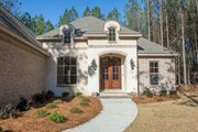 European Style House Plan - 3 Beds 2.5 Baths 2146 Sq/Ft Plan #430-136 Exterior - Other Elevation