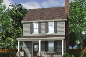 Farmhouse Exterior - Front Elevation Plan #48-977