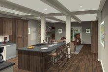 House Plan Design - Craftsman Interior - Kitchen Plan #56-705