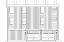 Contemporary Exterior - Rear Elevation Plan #932-256