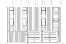House Plan Design - Contemporary Exterior - Rear Elevation Plan #932-256
