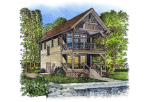 Dream House Plan - Victorian Exterior - Front Elevation Plan #1016-50