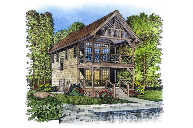 House Design - Victorian Exterior - Front Elevation Plan #1016-50