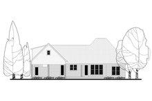 Dream House Plan - European Exterior - Rear Elevation Plan #430-144
