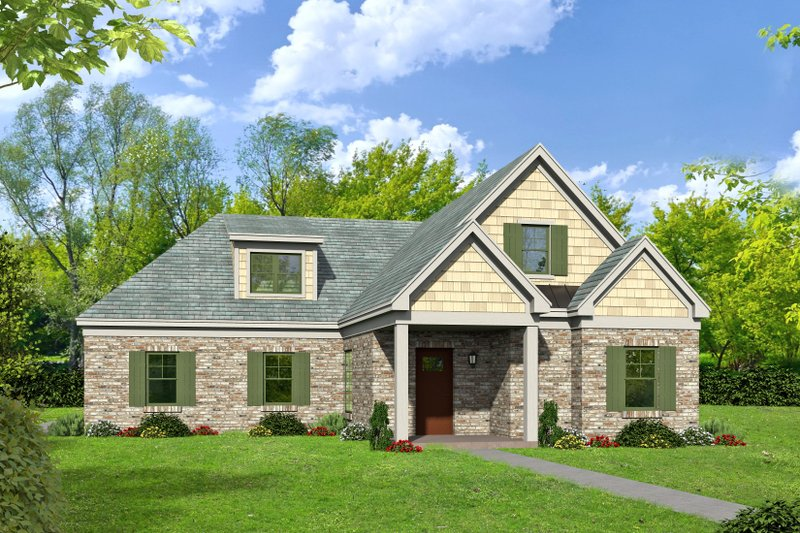 Dream House Plan - Country Exterior - Front Elevation Plan #932-263