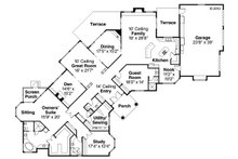Ranch Floor Plan - Main Floor Plan Plan #124-238