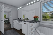 House Plan Design - Traditional Interior - Master Bathroom Plan #1060-8